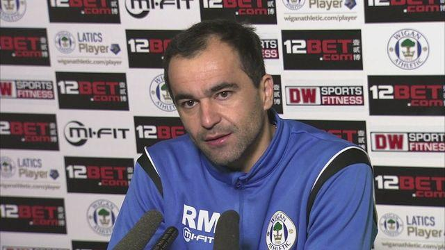 Martinez plays down importance of Wigan's match against QPR [AMBIENT]