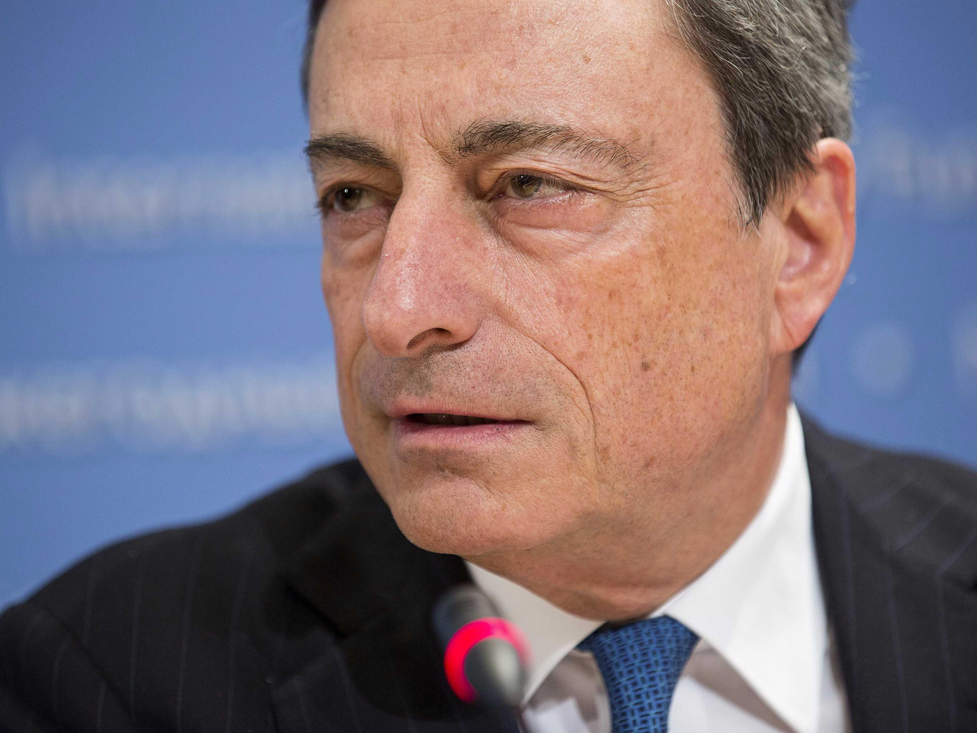 Fortune Magazine says Mario Draghi is the world's second-best leader