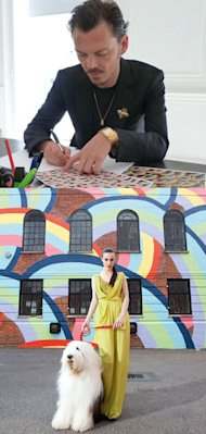 Matthew Williamson hooks up with Dulux for community regeneration project Let's Colour
