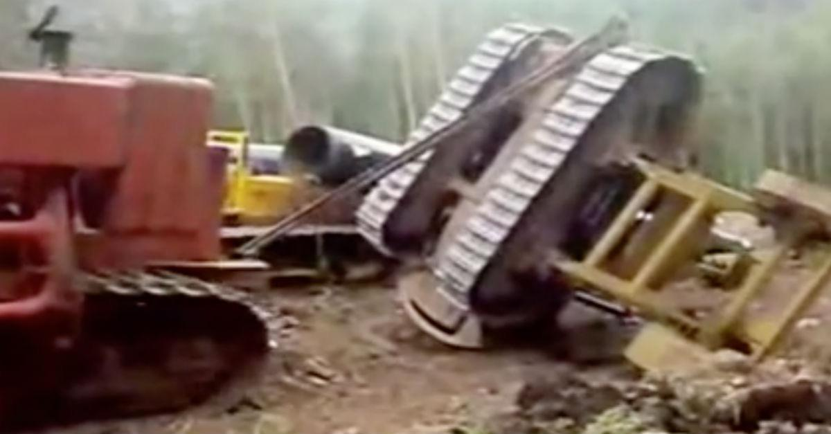 Runaway Tractor is Both Hilarious and Scary