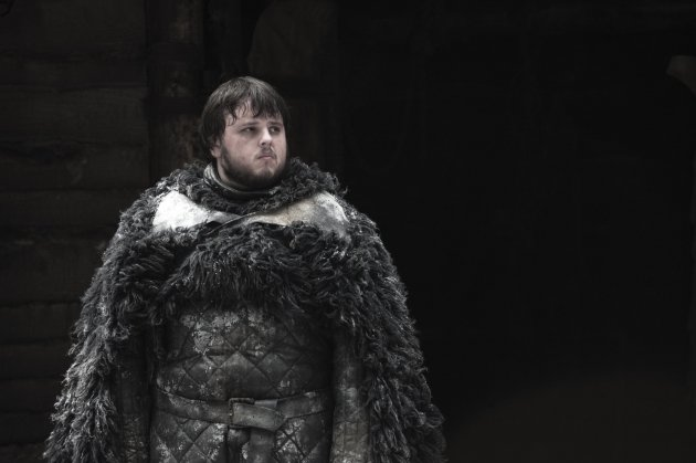 John Bradley as Samwell Tarly in 'Game of Thrones' Season 2 -- Helen Sloan/HBO