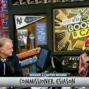 Commissioner Esiason talks Feline Football League