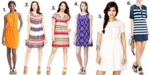 Courtesy of Banana Republic, Macy's, Gap, Anthropologie, Forever 21, BCBG