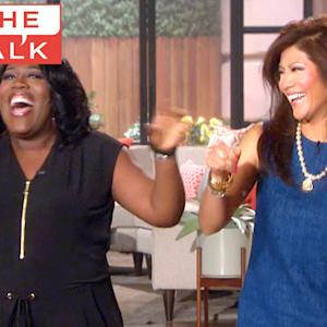 The Talk - EXCLUSIVE: John Stamos Promo Surprise For Sheryl Underwood