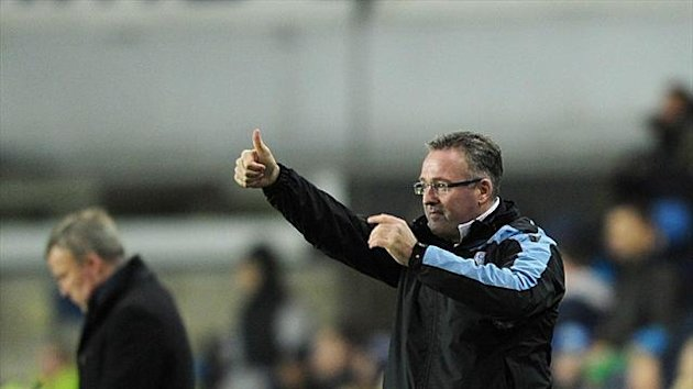Paul Lambert, right, has had a week to forget as Aston Villa manager