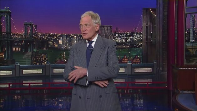 David Letterman - Tom Hanks in Dave's Monologue - 5/21/13