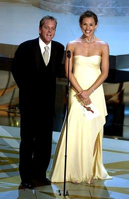 Kiefer Sutherland and Jennifer Garner Emmy Awards - 9/22/2002
