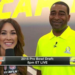 Cris Carter gives thoughts on first draft pick for Pro Bowl