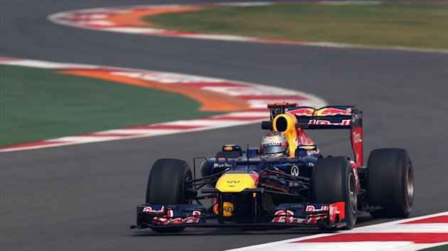 2012 Indian GP Red Bull Vettel