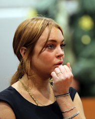 Actress Lindsay Lohan appears in Los Angeles court for a pretrial hearing (AP)