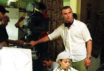 Director Liev Schreiber filming Warner Independent Pictures' Everything Is Illuminated
