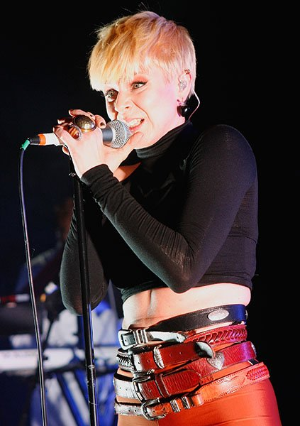 Performing in London in 2010