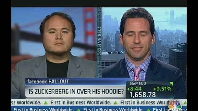 Is Zuckerberg In Over His Hoodie?