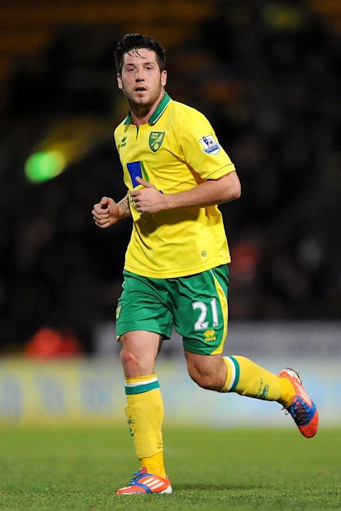 Norwich midfielder Jacob Butterfield was Dougie Freedman's first signing at Bolton