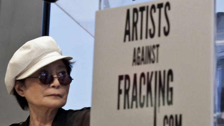 Yoko Ono, son launch anti-fracking coalition in NY