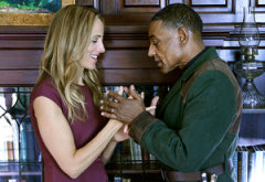 Kim Raver, Giancarlo Esposito | Photo Credits: Brownie Harris/NBC