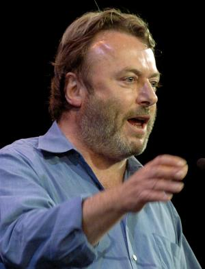FILE - Essayist Christopher Hitchens speaks during a debate on Iraq and the foreign policies of the United States and Britain, in this Sept. 14, 2005 file photo taken in New York. Vanity Fair reports Hitchens died on Thursday Dec. 15, 2011 at the age of 62 from complications of cancer of the esophagus his magazine. The magazine reports he died in the presence of friends at the MD Anderson Cancer Center in Houston, Texas. (AP Photo/Chad Rachman)