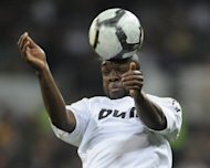 French midfielder Lassana Diarra, seen here in 2010, insisted that the lure of the Russian Premier League title and not money had not been the motivating factor for him joining big-spending Anzhi Makhachkala