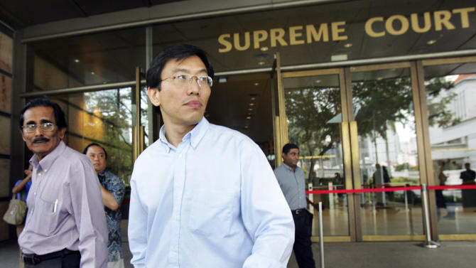 Singapore opposition leader's bankruptcy annulled