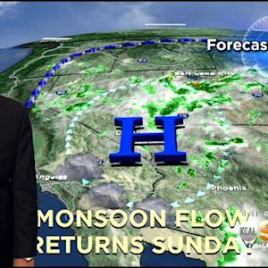 Rich Fields' Weather Forecast (July 10)