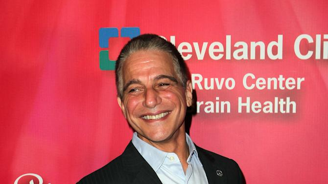 "Actor Tony Danza arrives at the Keep Memory Alive 16th Annual ""Power of Love Gala"" honoring Muhammad Ali with his 70th birthday celebration on Saturday, Feb. 18, 2012, in Las Vegas. (AP Photo/Jeff Bottari)"