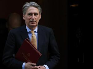 Britain's Defence Secretary Philip Hammond leaves after attending a Cabinet meeting at Number 10 Downing Street in London