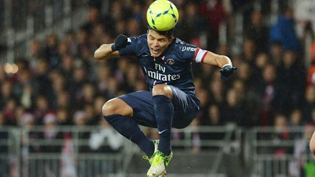 Ligue 1 2012/2013 Brest PSG Thiago Silva