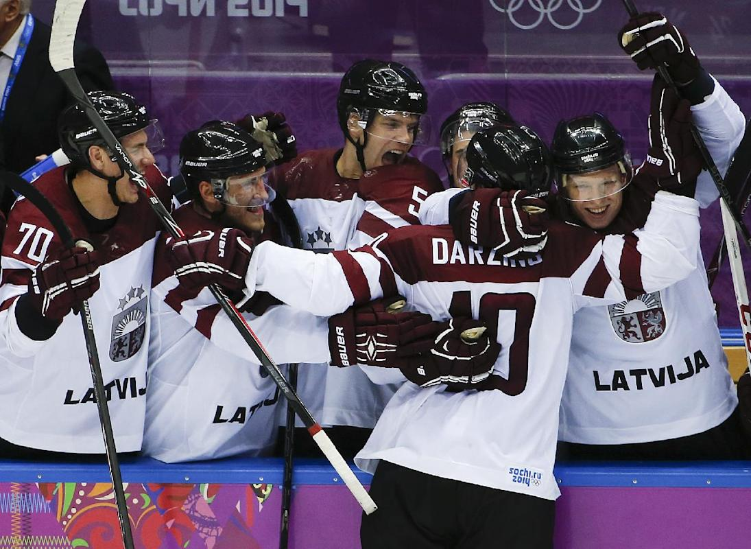 Ted Nolan, Latvia shock the world at Sochi Olympics