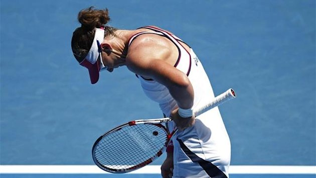 Sam Stosur at the Australian Open