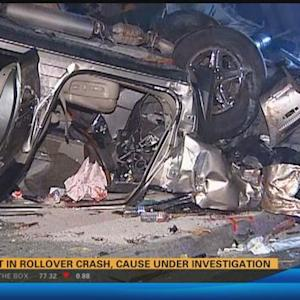 Two injured in Oceanside rollover crash 5:30 a.m.