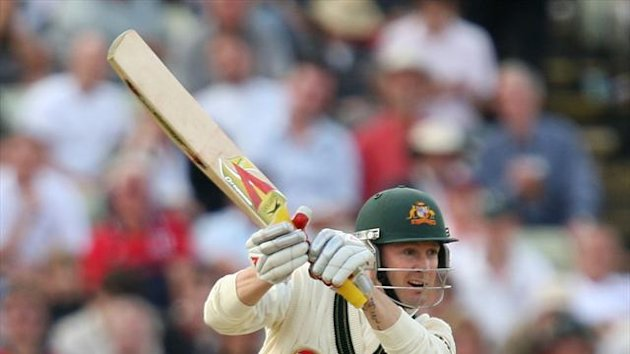 Michael Clarke led Australia's recovery against India