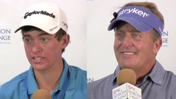 Funjk/Funk news conference after Round 1 of PNC Challenge