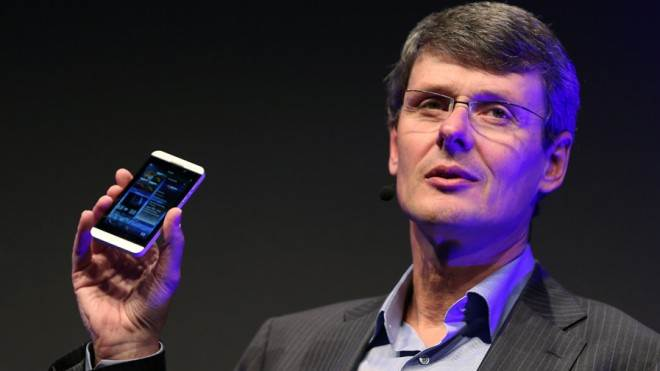 BlackBerry CEO Thorsten Heins has long said he'd rather turn the company around with new products than put it up for sale.