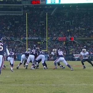 Chicago Bears attempt fake punt with only 10 players