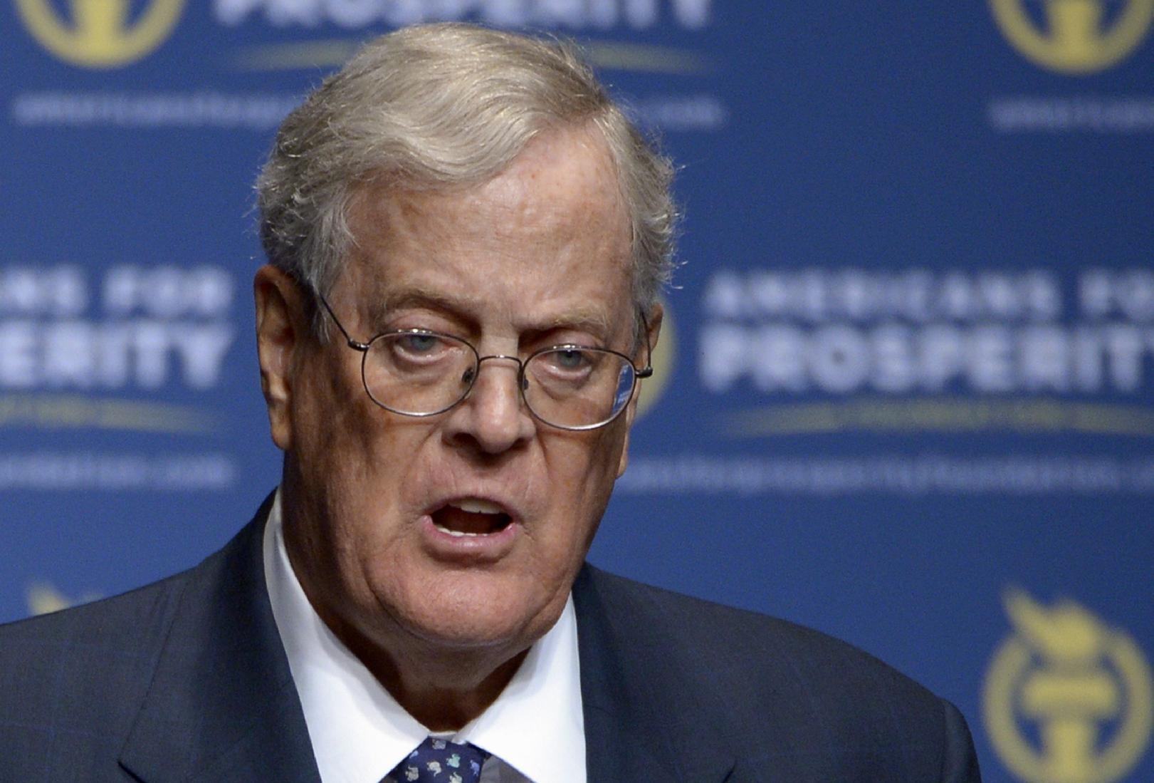 Budget for Koch-backed network: almost $1 billion for 2016