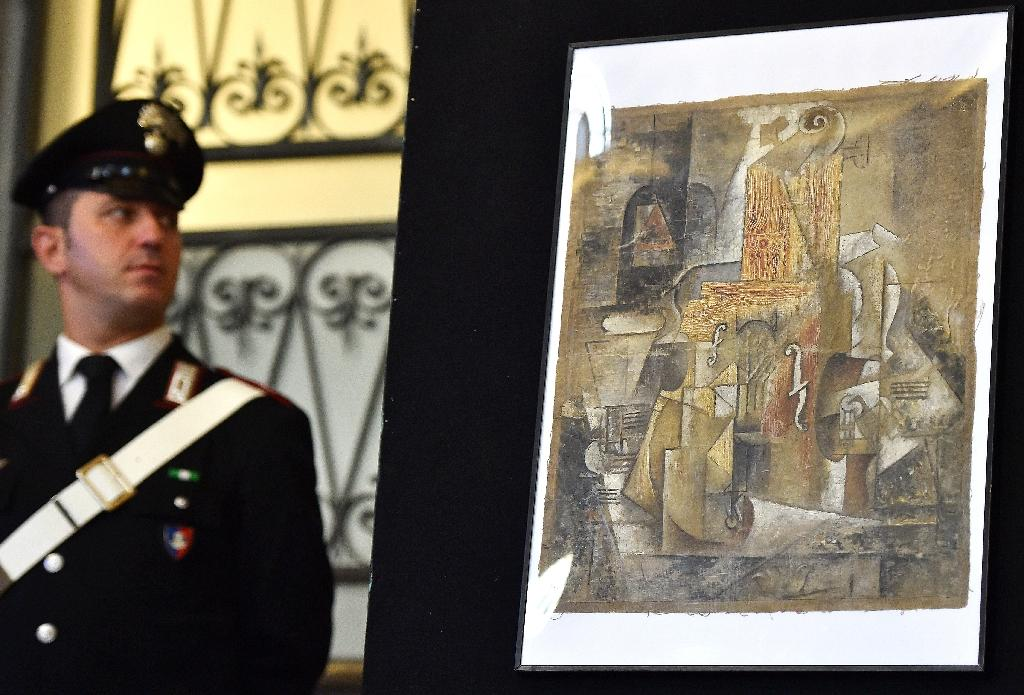 Rome pensioner given $16 mn Picasso 'for act of kindness'