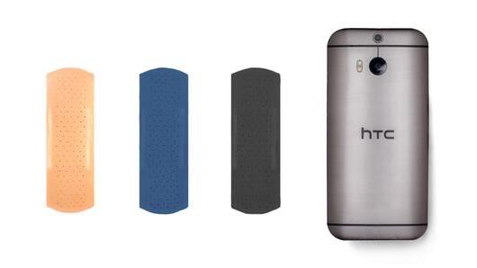 HTC gleefully trashes the Galaxy S5 with brutal Band-Aid graphic