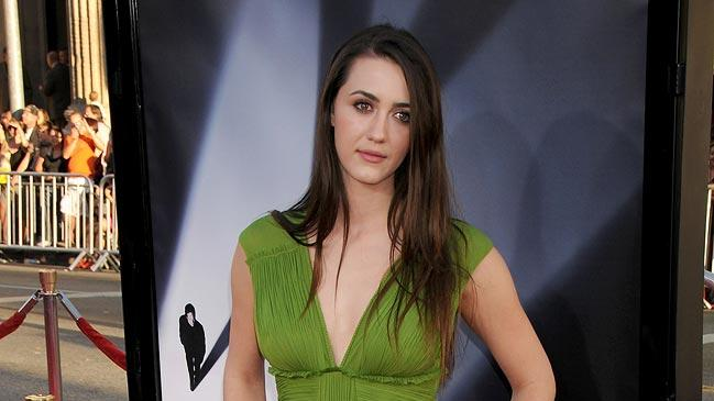 XFiles I Want to Believe Hollywood Premiere 2008 Madeline Zima