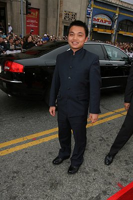 Shaobo Qin at the Los Angeles premiere of Warner Bros. Pictures' Ocean's Thirteen