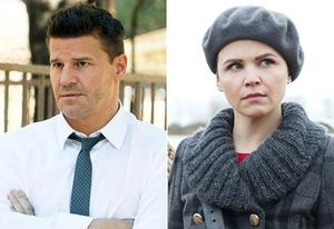 David Boreanaz, Ginnifer Goodwin | Photo Credits: Patrick McElhenney/FOX, Jack Rowand/ABC