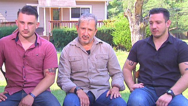 Sneak peek: Father, sons heading to Mideast to fight ISIS