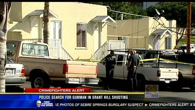 Police search for gunman in Grant Hill shooting