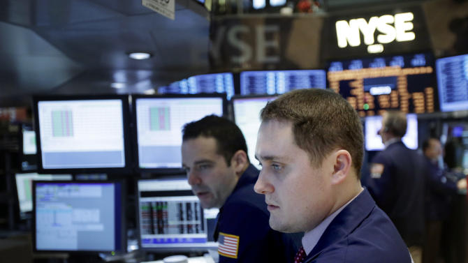 Stocks mostly lower on Wall Street; Yum plunges