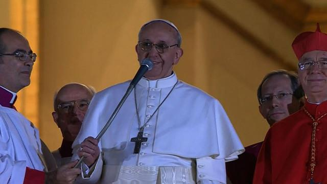 Pope Francis marks first anniversary as pontiff