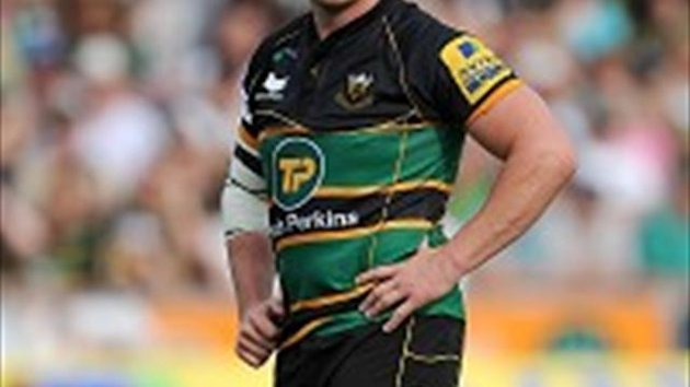 Northampton hooker Dylan Hartley will miss the next two games