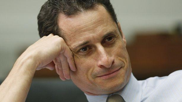 Anthony Weiner Marvels at His Own Greed