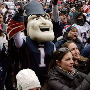 Best of New England Patriots send-off rally