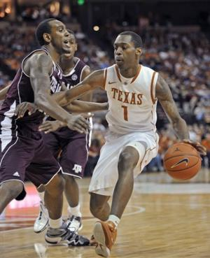 Lewis leads Texas over Texas A&M 61-51