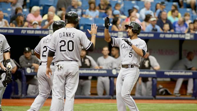 Garcia 2 HRs, leads Danks, White Sox over Rays