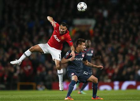 match at Old Trafford in Manchester, northern England, March 19, 201
